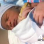 Shavonnte Taylor had baby boy in Metro station
