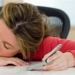 stress can lead to sleep-texting