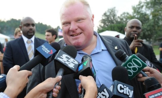 Rob Ford to attend Ford Fest (Photo)