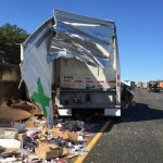 FedEx Truck Accident - Video: FedEx Truck Crashes In Georgia, Spilling Packages On Highway