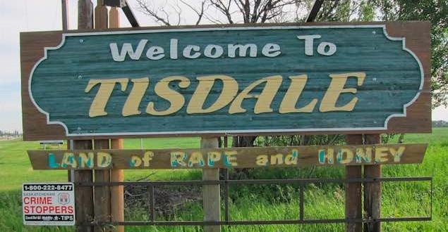 Tisdale, Saskatchewan, rethinks its 'Land of Rape and Honey' slogan