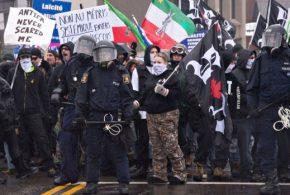 44 arrests made near Quebec City nationalist protests