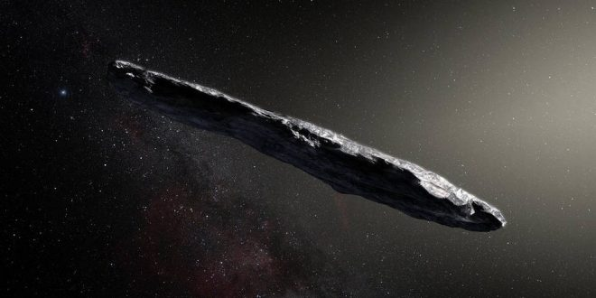 Scientists discover first asteroid from outside our solar system