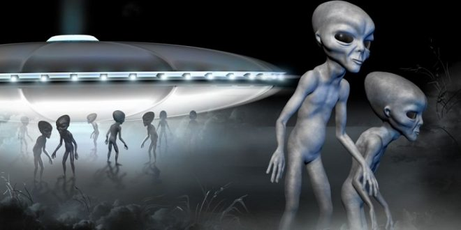UFO and Alien Landing on earth, claims scientist