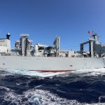 Chinese destroyer aims laser at US aircraft